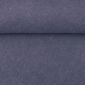 Vilt jeans blauw 1,5 mm dik 90 cm breed per meter.