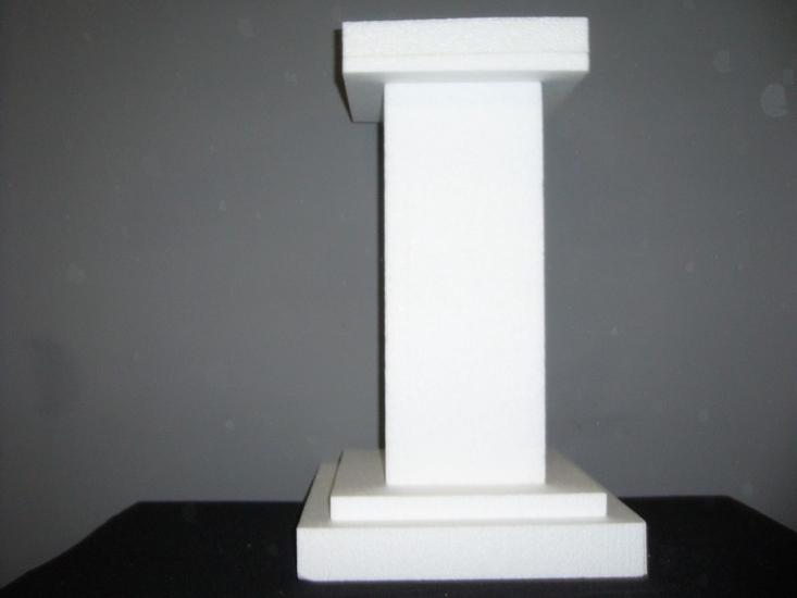 Vierkante zuil