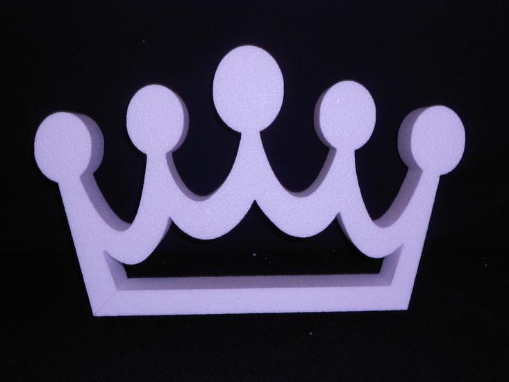 Kroon hoogte 50 cm, breedte 80 cm, dikte 7 cm