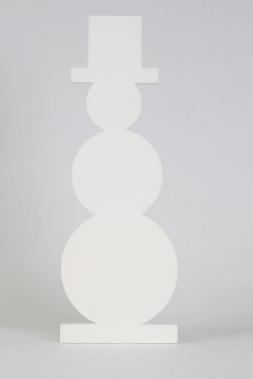 Sneeuwman, verschillende afmetingen