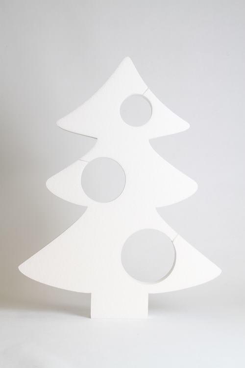 Kerstboom met gaten