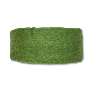Wol band Moss green