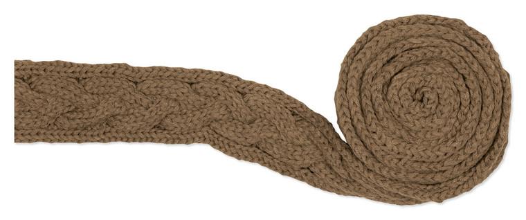 Gebreide sjaal Licht Bruin