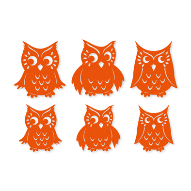 Vilt uilen Oranje