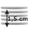 Cake Boards 1,5 cm, set van 5 st.