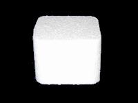 Petit Four met afgeronde hoeken 5,5 x 5,5 x 4 cm