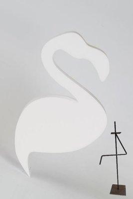 Metalen statief, excl. flamingo
